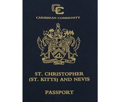 聖基茨護照 聖克里斯多福護照 st. kitts passport